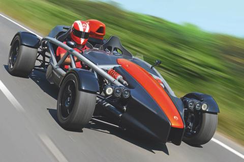 Ariel Atom Car Driving Home Page